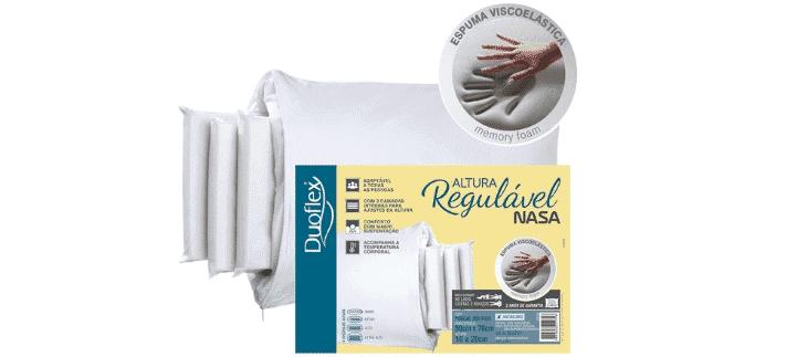 Travesseiro Duoflex NASA