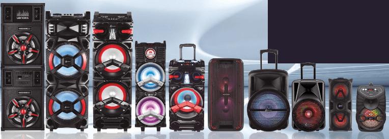 Caixa de som amplificada Lenoxx