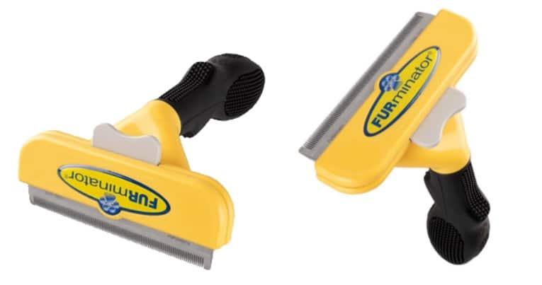 Escova FURminator amarela