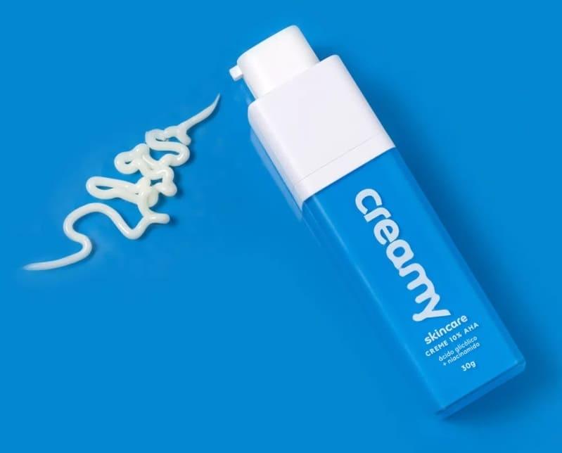 Creamy Azul AHA Ácido Glicólico