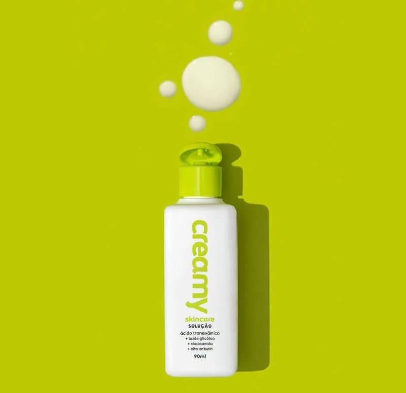 Creamy Verde Ácido Tranexâmico