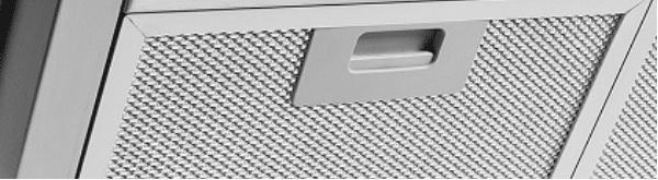 Filtro lavável em alumínio Coifa Nardelli