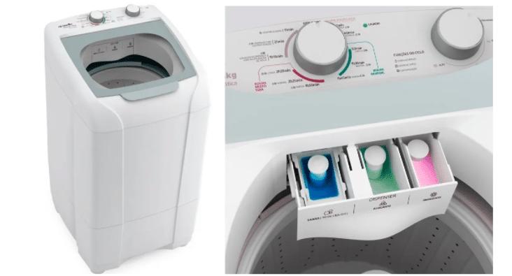 Lavadora automática Energy 8kg da Mueller