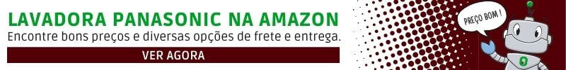 Banner da Lavadora Panasonic