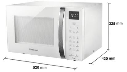 Micro-ondas Panasonic STYLE NN-ST654WRU branco