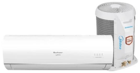 Ar-condicionado Midea AirVolution Inverter 9.000 BTUs Quente Frio
