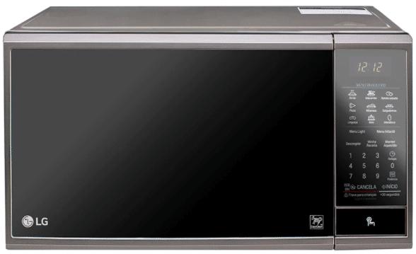 Micro-ondas LG MS3095LRA